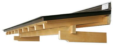 木製ガルバリウム庇(洋風タイプ)